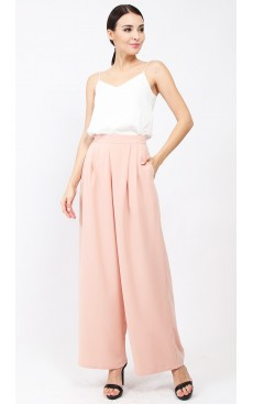 Flare Pants - Rose Cloud