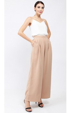 Flare Pants - Brush Brown