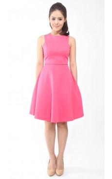Skater Dress - Pink