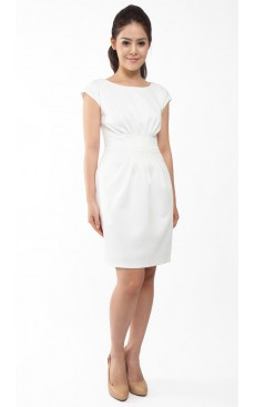Sheath Dress - Off White